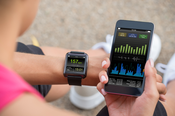 Exercise Stats on a Smart Watch